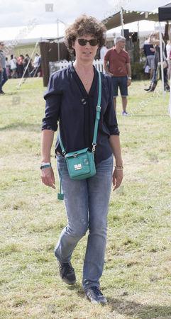 Stock Image of Camilla Sainsbury, wife of Shaun Woodward.