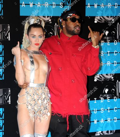 Stock Picture of Miley Cyrus, Michael Len Williams II