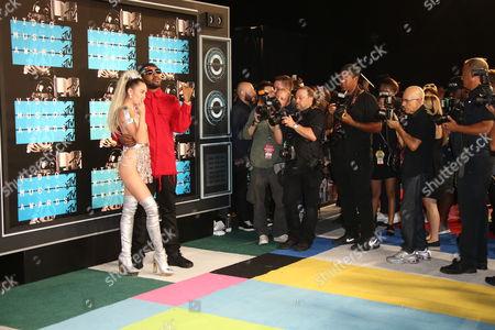 Stock Photo of Miley Cyrus, Michael Len Williams II
