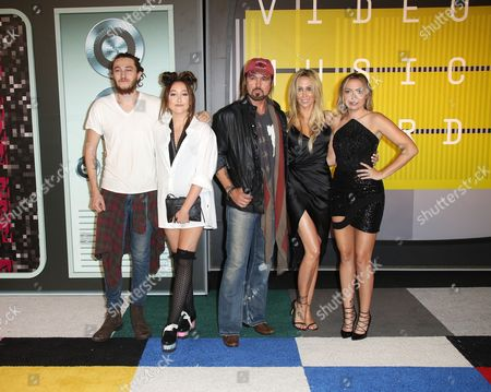 Stock Picture of Braison Cyrus, Letitia Cyrus, Noah Cyrus, Billy Ray Cyrus and Brandi Glenn Cyrus