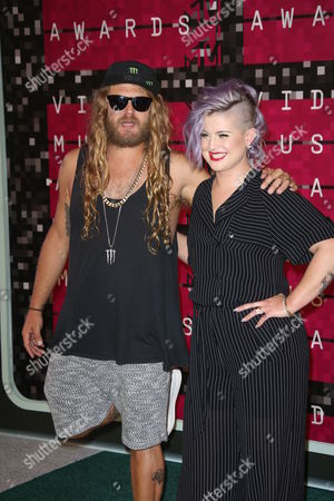Luke Trembath and Kelly Osbourne