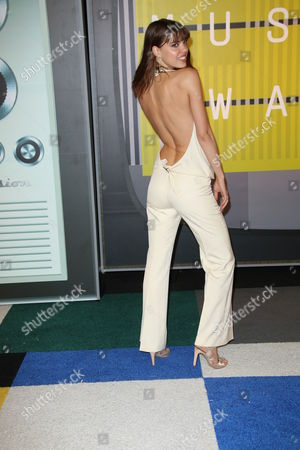 Editorial image of MTV Video Music Awards, Arrivals, Los Angeles, America - 30 Aug 2015