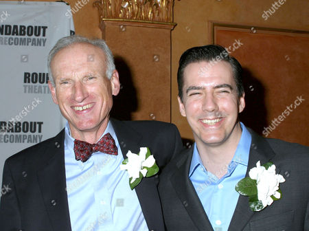 James Rebhorn and Adam Trese