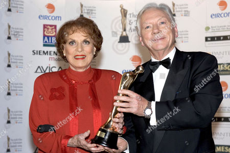 Editorial image of IRISH FILM AND TELEVISION AWARDS, DUBLIN, EIRE - 30 OCT 2004