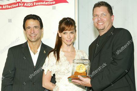 Joe Cristina, Jennifer Love Hewitt and George Metcalf