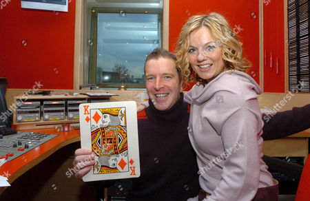 Editorial picture of GERI HALLIWELL APPEARANCE ON RADIO CLYDE, CLYDEBANK, SCOTLAND, BRITAIN - 01 NOV 2004