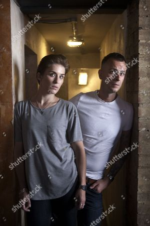 Vicky McClure and Joseph Gilgun photographed at The Sun Tavern, Bethnal Green