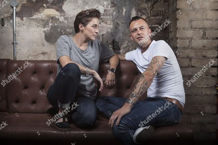 Stock Image of Vicky McClure and Joseph Gilgun photographed at The Sun Tavern, Bethnal Green