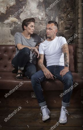 Editorial picture of Vicky McClure and Joe Gilgun photographed at The Sun Tavern, Bethnal Green, London - 07 Aug 2015