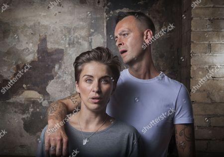 Stock Photo of Vicky McClure and Joseph Gilgun photographed at The Sun Tavern, Bethnal Green