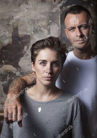Editorial photo of Vicky McClure and Joe Gilgun photographed at The Sun Tavern, Bethnal Green, London - 07 Aug 2015