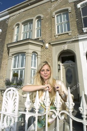 Suzanne Mizzi outside of her East London Home