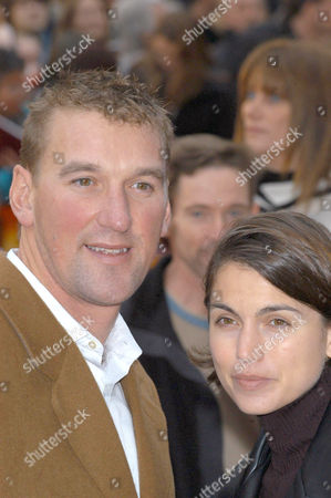 Stock Picture of Matthew Pinsent and wife Demetra Koutsoukos