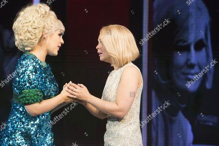Alison Arnopp (Dusty/Mary O'Brien), Francesca Jackson (Nancy Jones)