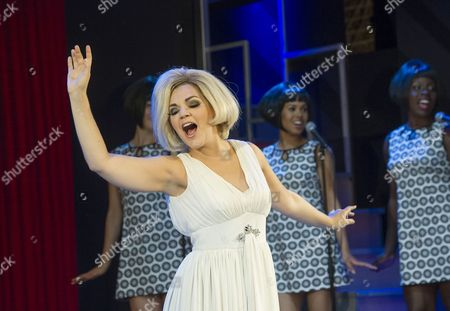 Editorial photo of 'Dusty' Musical about Dusty Springfield performed at the Charing Cross Theatre, London, Britain - 02 Sep 2015