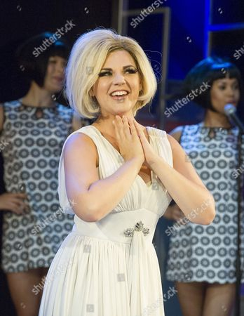 Editorial picture of 'Dusty' Musical about Dusty Springfield performed at the Charing Cross Theatre, London, Britain - 02 Sep 2015