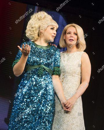 Stock Photo of Alison Amoss as Dusty, Francesca Jackson as Nancy