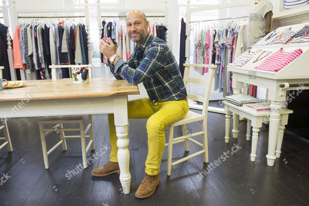 Editorial photo of Tom Joule founder of Joules photoshoot, London, Britain - 25 Aug 2015