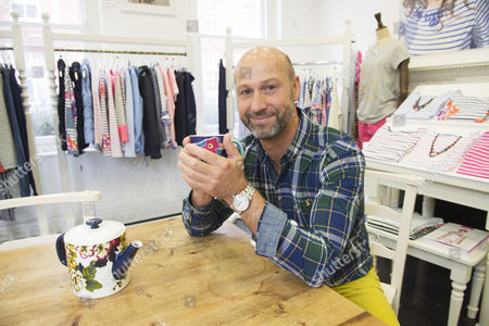 Stock Image of Tom Joule founder of Joules