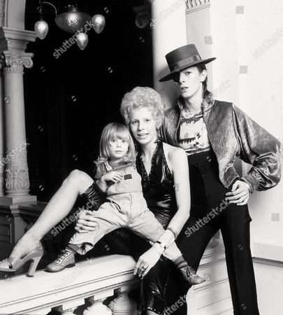 ZOWIE, ANGIE AND DAVID BOWIE
