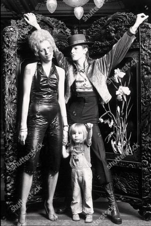 ANGIE, ZOWIE AND DAVID BOWIE