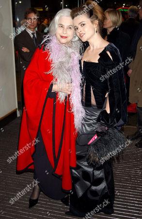 Elena Wynnona and Helena Bonham Carter