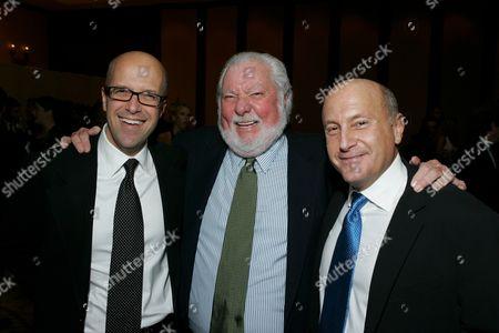 Donald DeLine, Bernie Brillstein and Laurence Mark