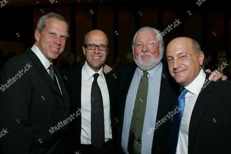Steve Tisch, Donald DeLine, Bernie Brillstein and Laurence Mark
