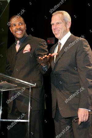 Eriq LaSalle and Steve Tisch