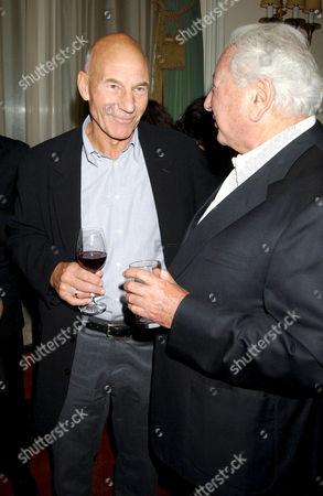 Patrick Stewart and Michael Winner