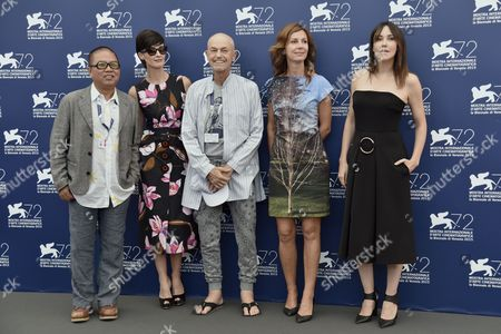 Stock Photo of Jonathan Demme, Alix Delaporte, Paz Vega, Fruit Chan, Anita Caprioli