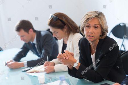 James Cheron, Chantal Jouanno and Valerie Pecresse