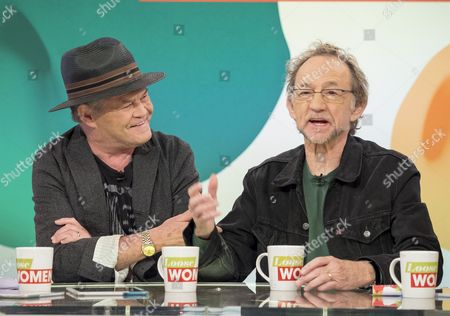 Micky Dolenz and Peter Tork