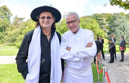 Marc Veyrat and Alain Ducasse.