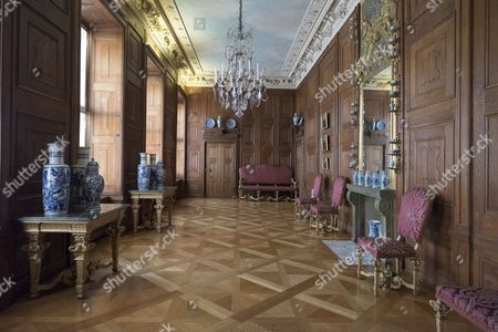 The Charlottenburg Palace in Berlin was built in 1699 by architect Johann Arnold Neringpor for Sophie Charlotte of Hanover in a Baroque style. Nowadays it is used as a museum.