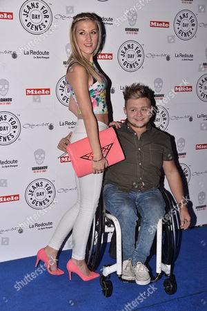 Jack Binstead and girlfriend Alex Grace