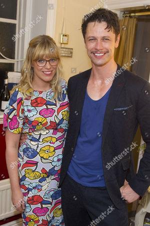 Stock Image of Vanessa Hehir and Leon Ockenden (Peter Kyle)