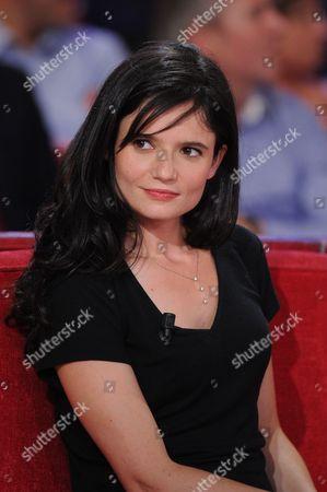 Editorial picture of 'Vivement Dimanche' TV show, Paris, France - 02 Sep 2015