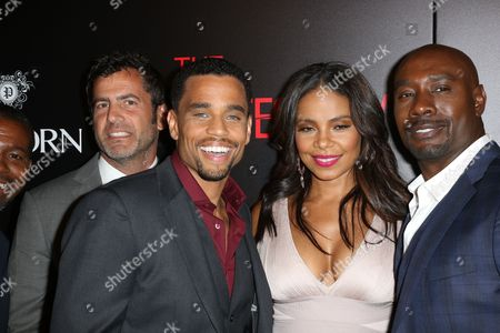 David M. Rosenthal, Sanaa Lathan, Michael Ealy and Morris Chestnut