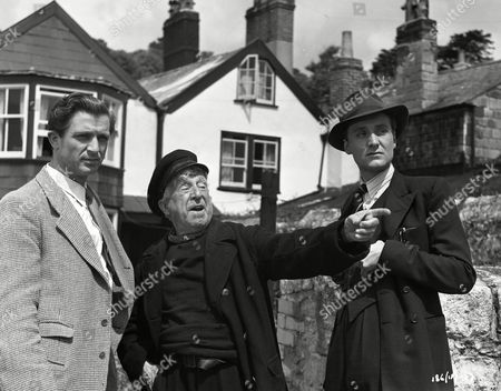 Stock Image of Norman Wooland, Edward Rigby and Patrick Macnee