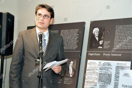 Danish minister for culture Brian Mikkelsen