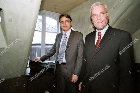 Danish minister for culture Brian Mikkelsen and Lord Mayor of Odensen Boye Nielsen