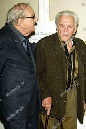 Karl Malden and Kik Douglas