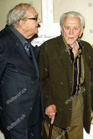 Karl Malden and Kik Douglas