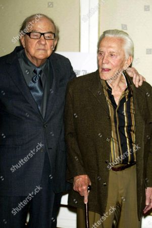 Karl Malden and Kirk Douglas