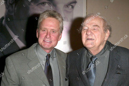 Michael Douglas and Karl Malden