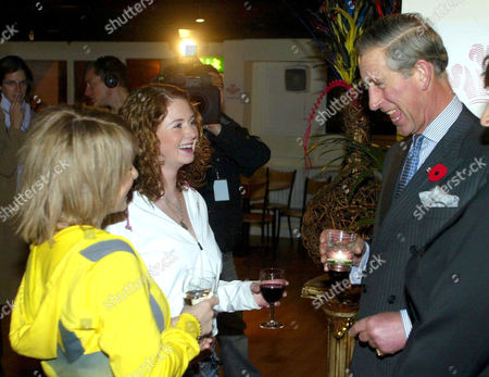 Yulia Volkova and Lena Katina with Prince Charles