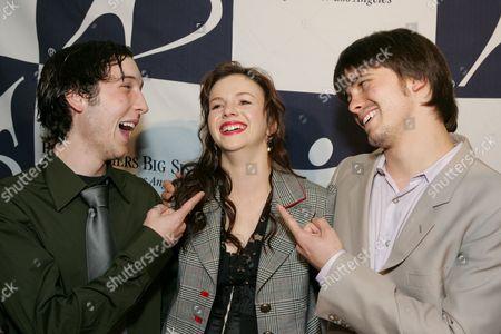 Chris Marquette, Amber Tamblyn & Jason Ritter