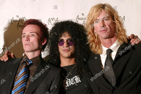 Velvet Revolver - Scott Weiland, Slash and Duff McKagen