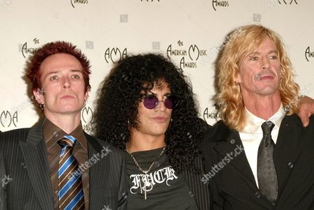 Scott Weiland, Slash and Duff McKagen of Velvet Revolver